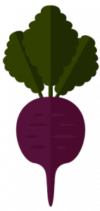 a beet icon